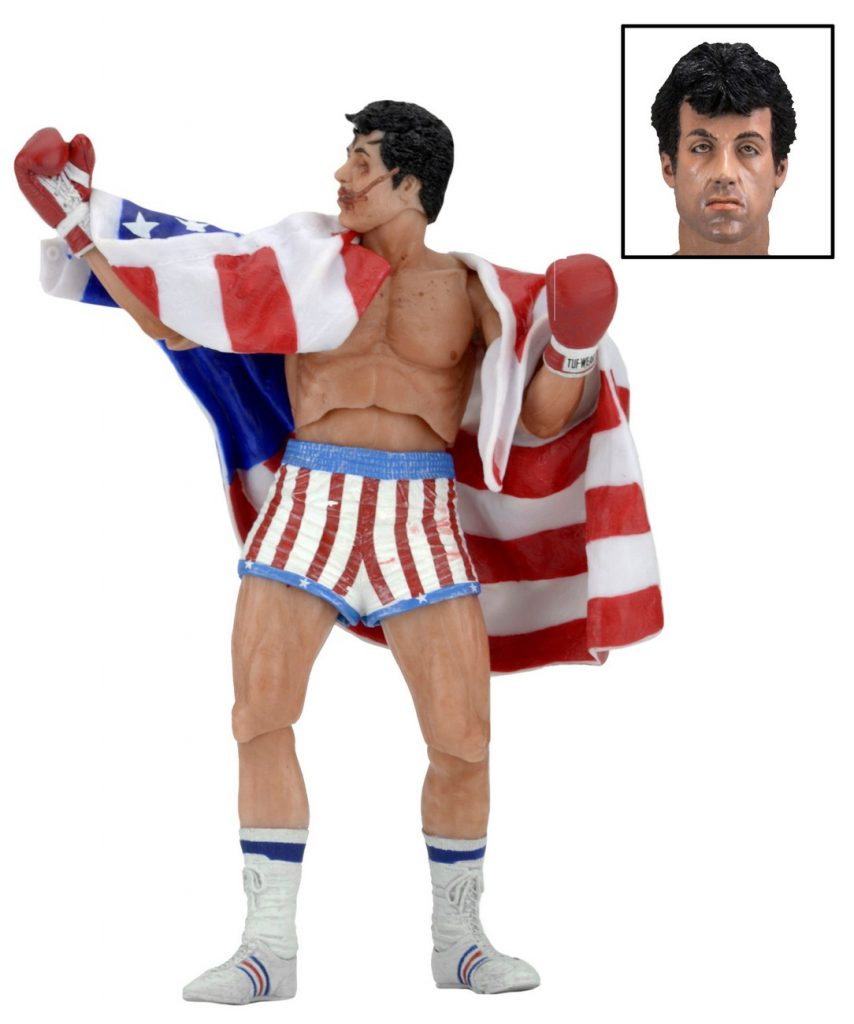 Rocky 40th Anniversary 7 Quot Scale Action Figure Series 2