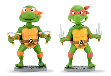 Teenage Mutant Ninja Turtles (Classic) - Head Knocker Assortment (Michelangelo and Raphael)