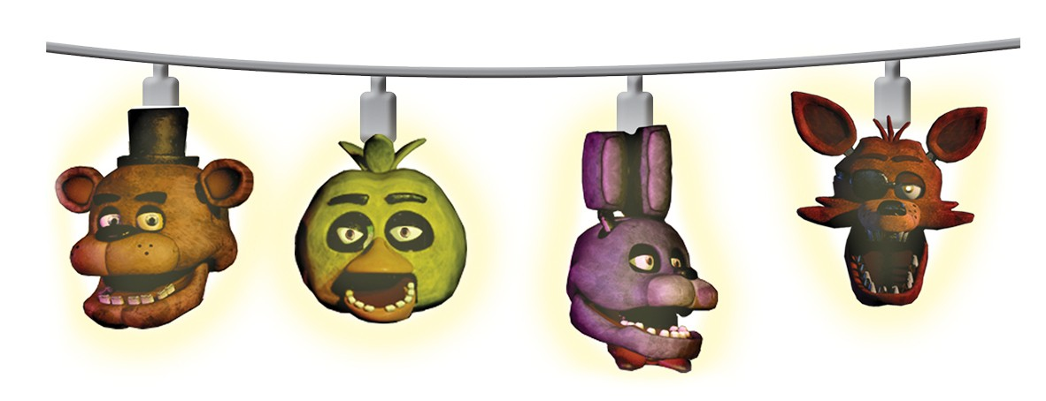 Discontinued Five Nights At Freddy S String Lights