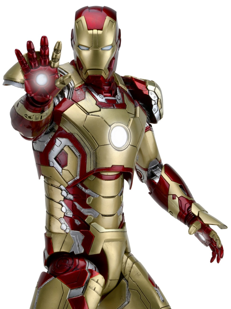 Discontinued iron man 3 1 4 scale action figure iron man mark 42 with led lights - Iron man 1 images ...