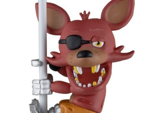 DISCONTINUED: Scalers – 2″ Characters – Five Nights at Freddy's – Foxy