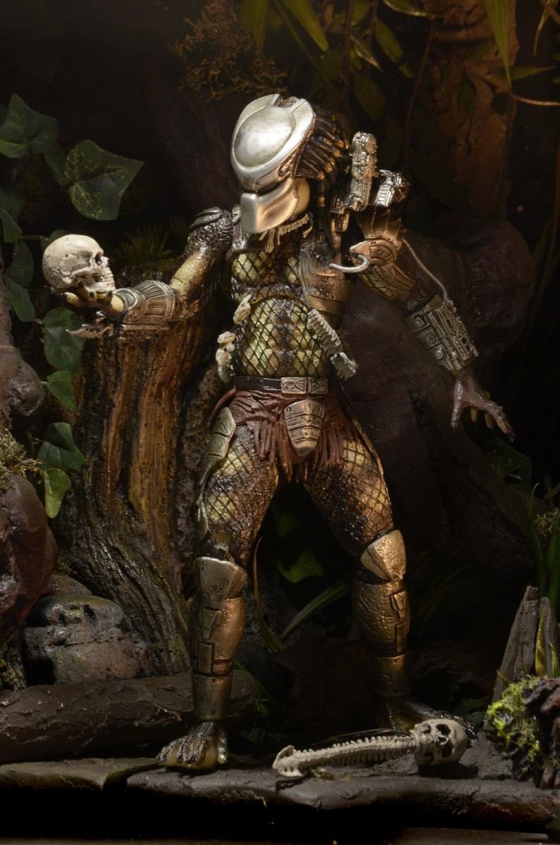Predator 7 Scale Action Figure Ultimate Jungle Hunter