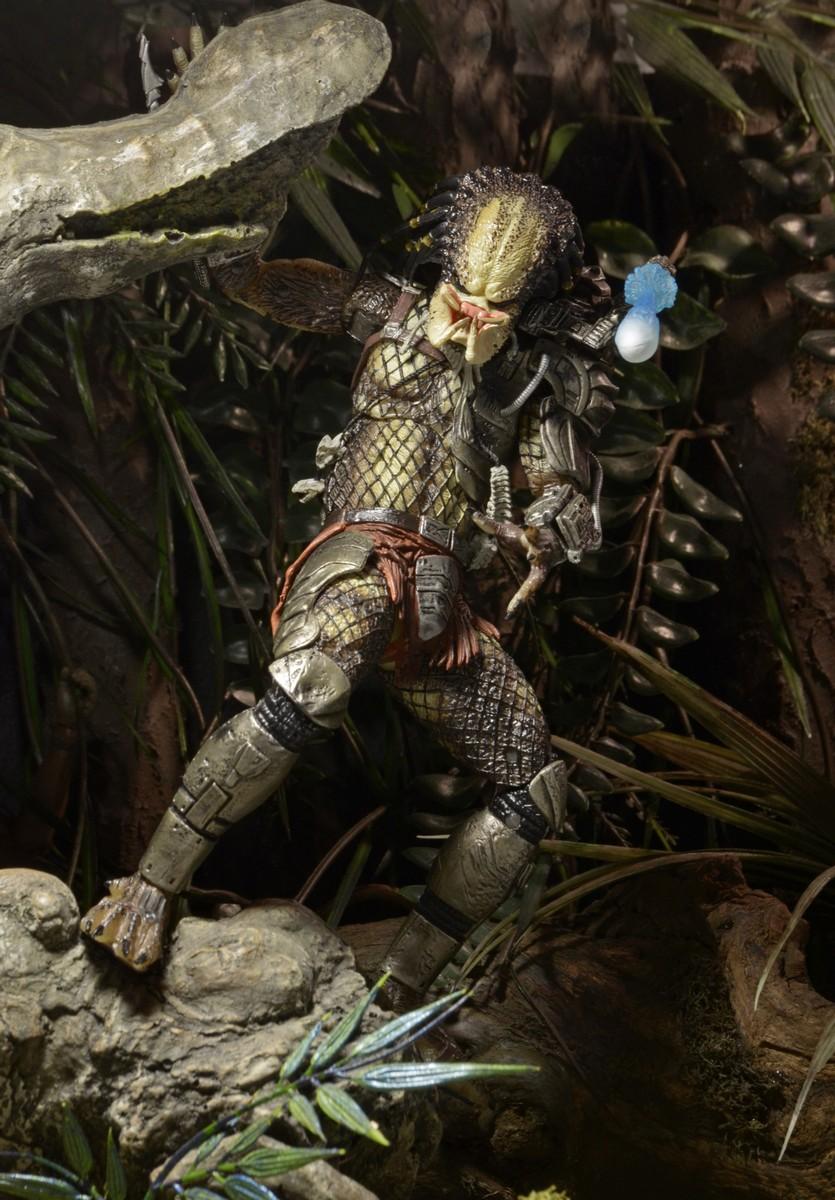 "NECA Jungle Hunter Predator Ultimate 7/"" Action Figure Movie Collection 1:12 Doll"