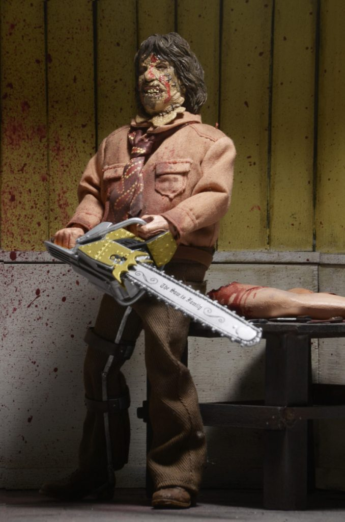 Texas Chainsaw Massacre 3 8 Clothed Action Figure Leatherface