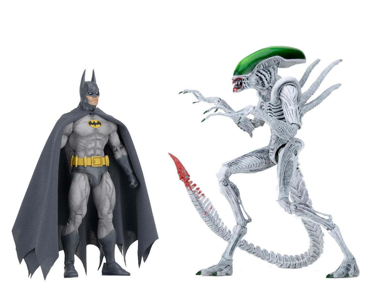 batman vs alien by - photo #33