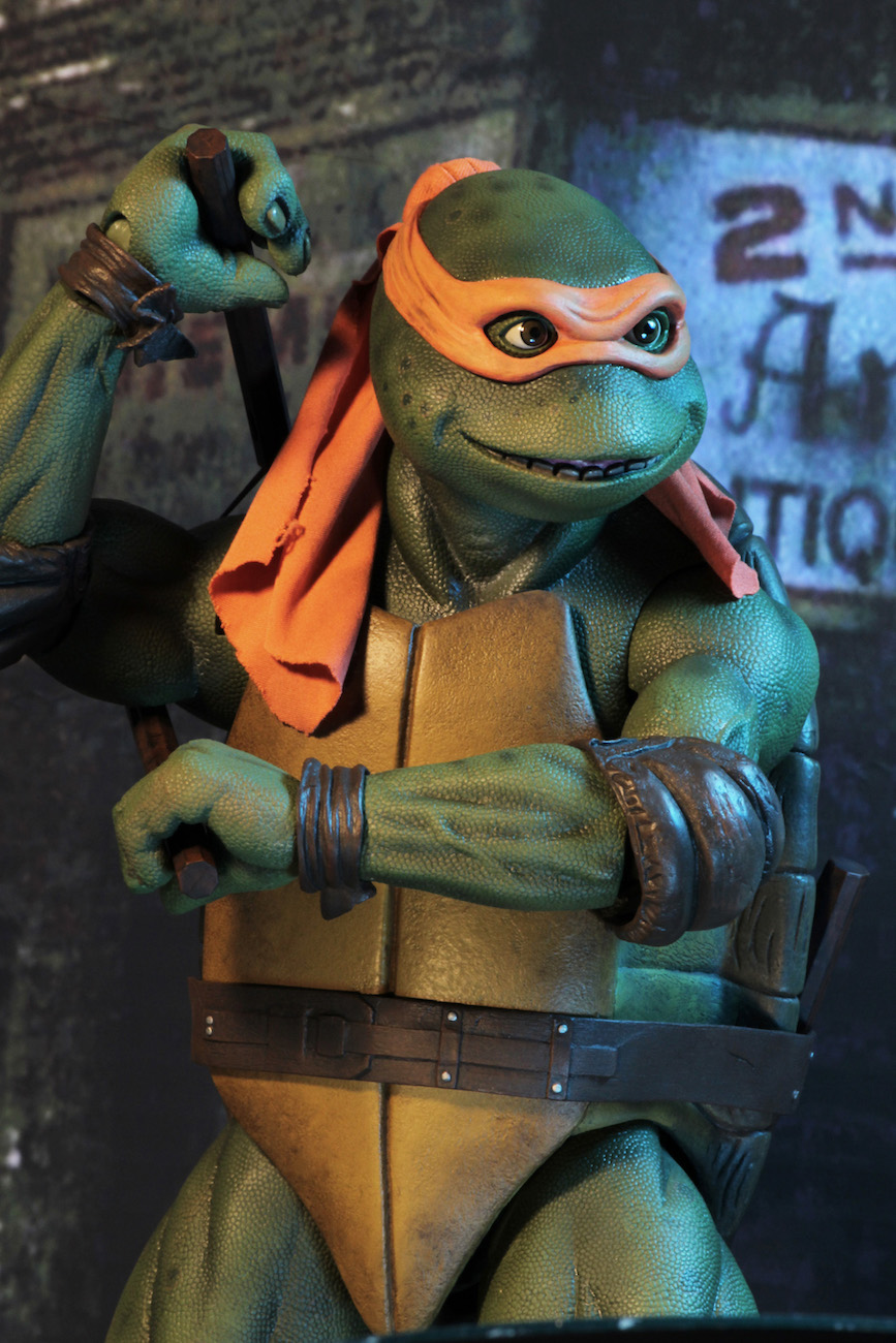 Teenage mutant ninja turtles 1990 movie 1 4 scale - Michaelangelo tortue ninja ...