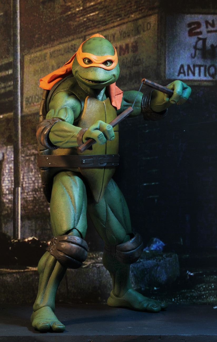 teenage mutant ninja turtles 1990 movie � 14 scale