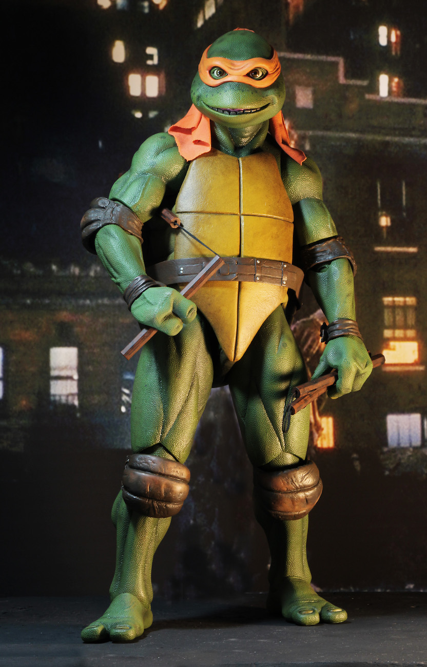 Teenage Mutant Ninja Turtles Toys 1 : Teenage mutant ninja turtles movie scale