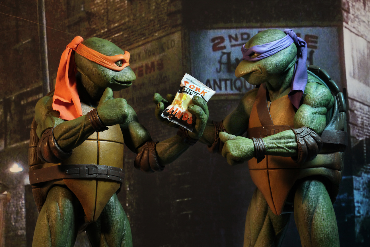 Ninja turtles michelangelo movie