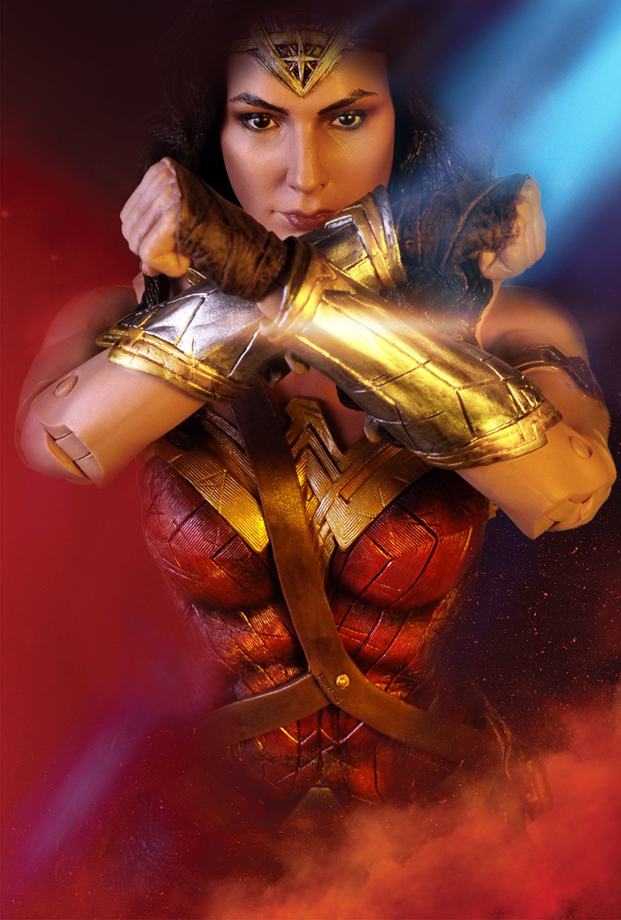 It is a picture of Lively A Picture of Wonder Woman