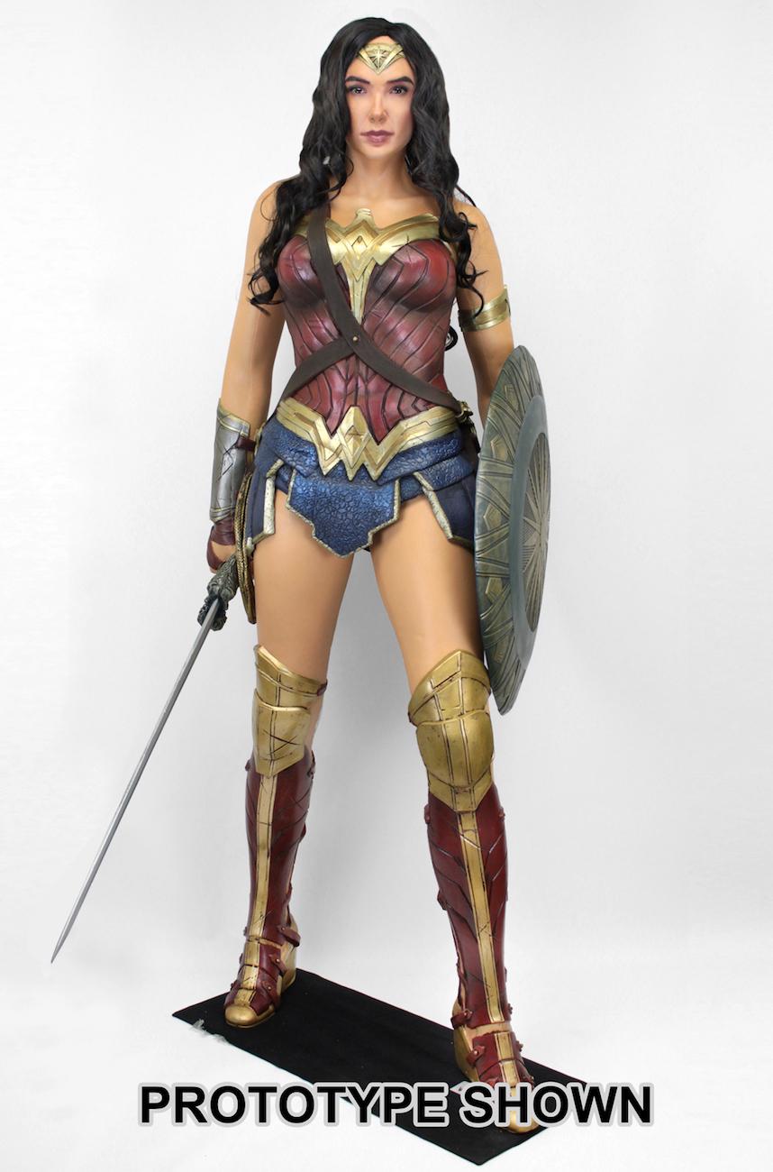 Wonder Woman 2017 Life Size Foam Figure Wonder Woman