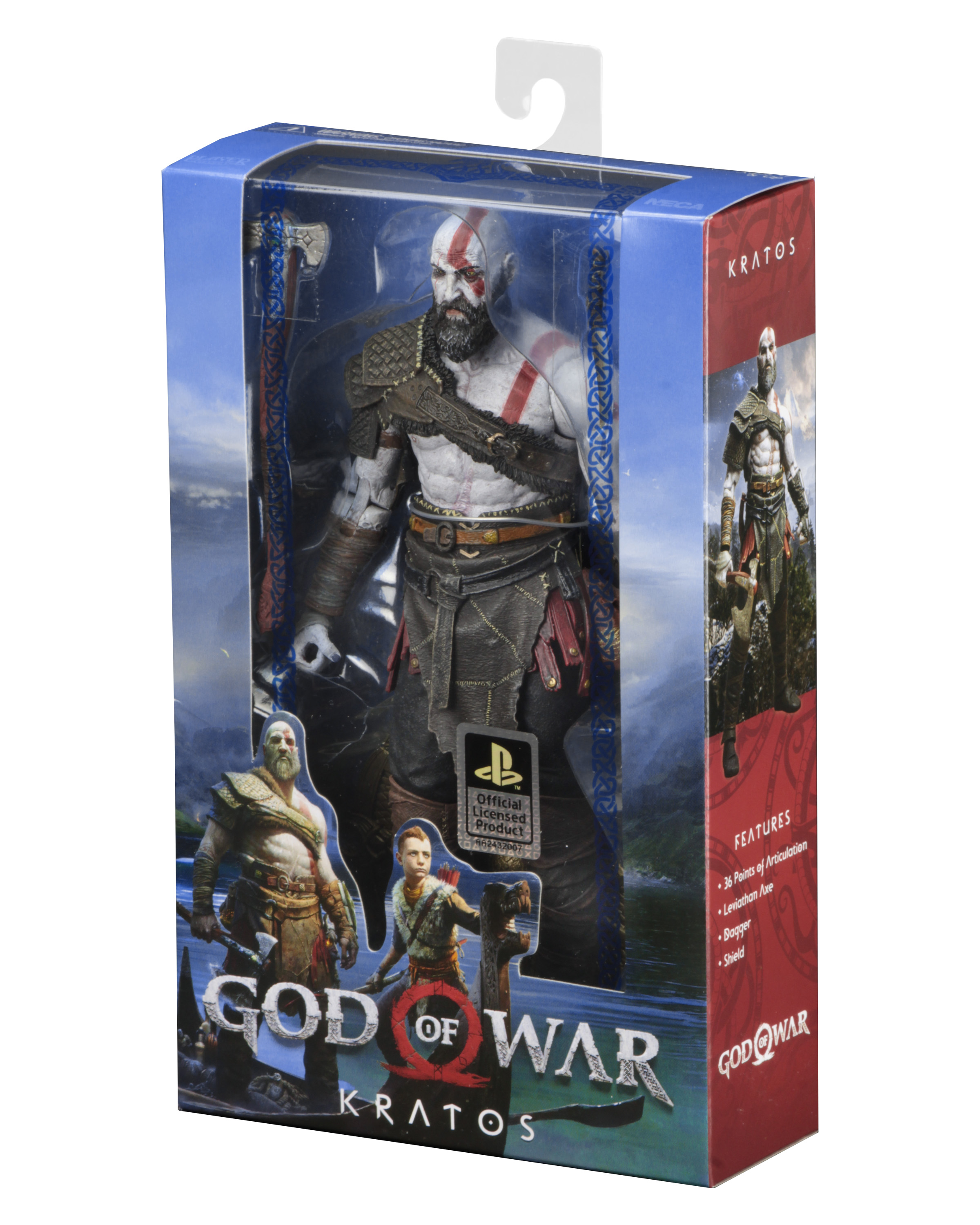 God Of War 2018 7 Scale Action Figure Kratos