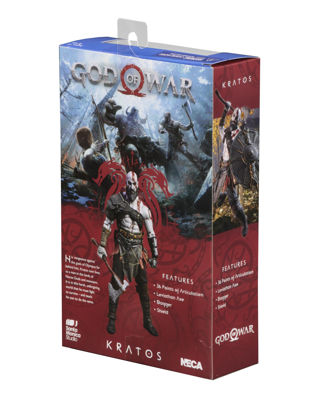 God of War (2018) – 7″ Scale Action Figure – Kratos 70745b9631