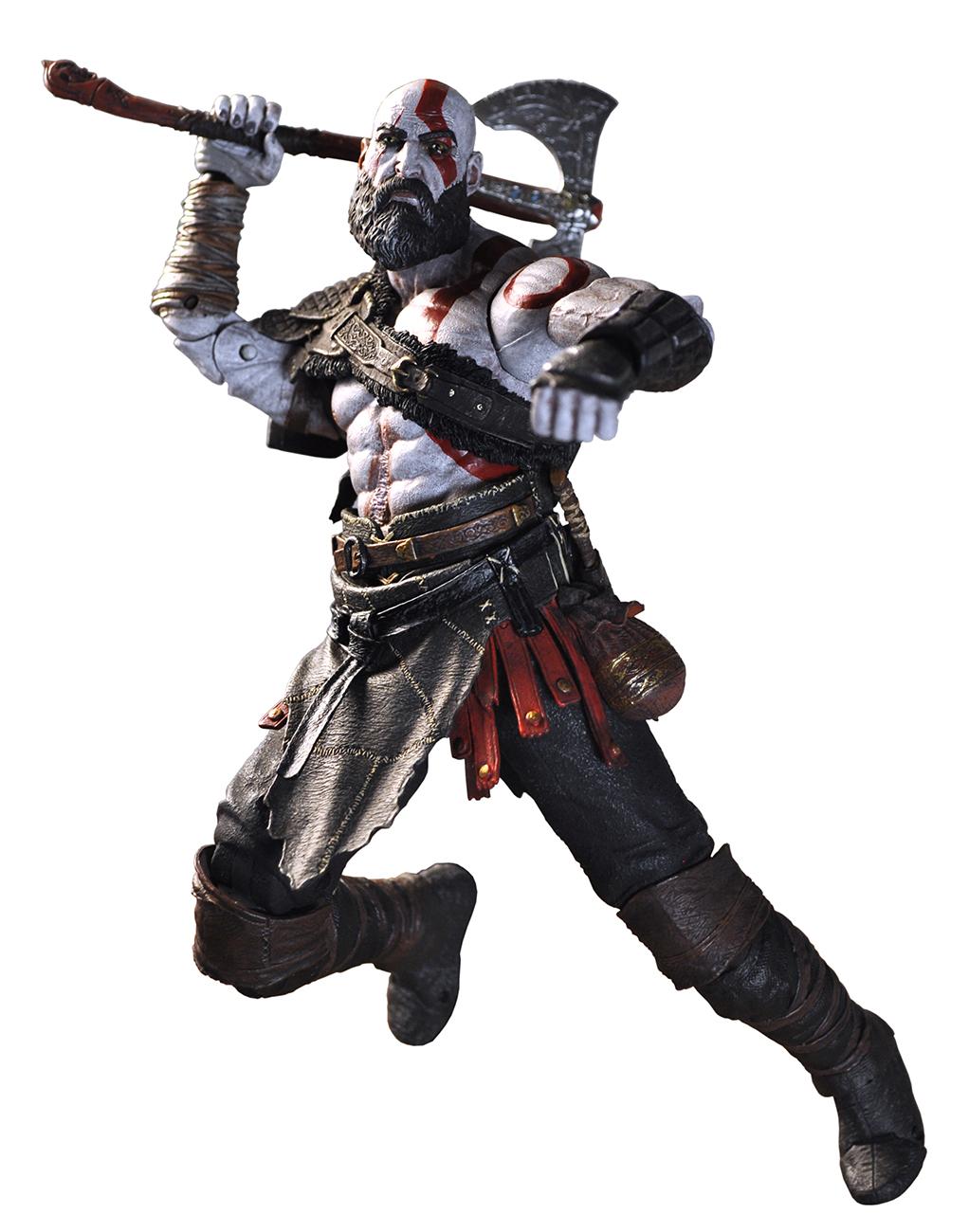 God Of War 2018 7 Scale Action Figure Kratos