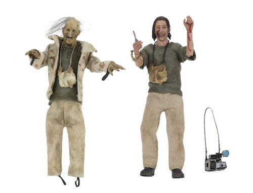 "DISCONTINUED: Texas Chainsaw Massacre – 8"" Clothed Action Figures – Nubbins Sawyer Collector's Set"