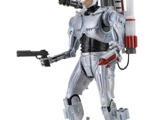 DISCONTINUED: RoboCop vs The Terminator – 7″ Scale Action Figure – Ultimate Future RoboCop