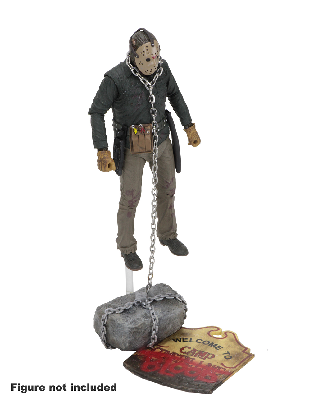 Toys For 13 : Friday the th accessory pack camp crystal lake set