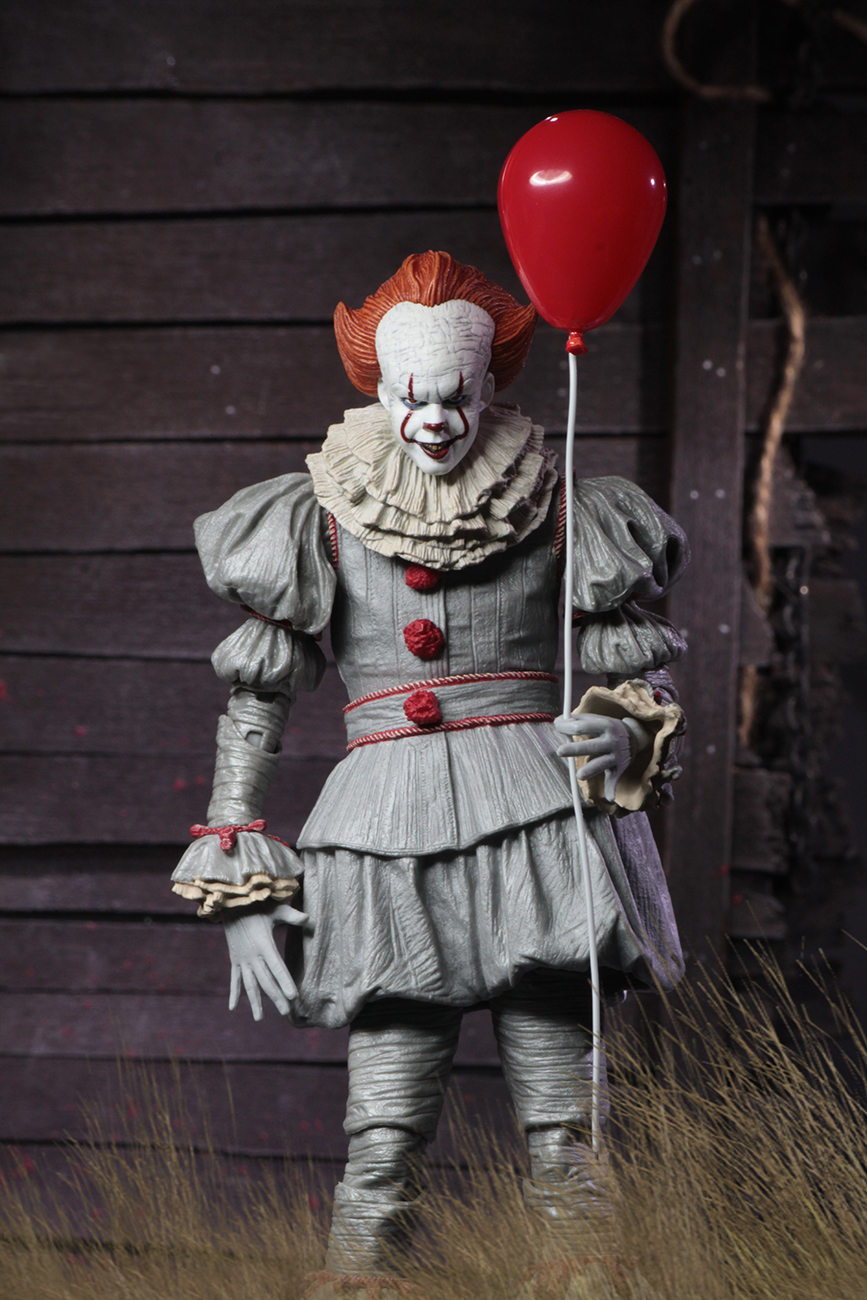 it 7 scale action figure ultimate pennywise 2017
