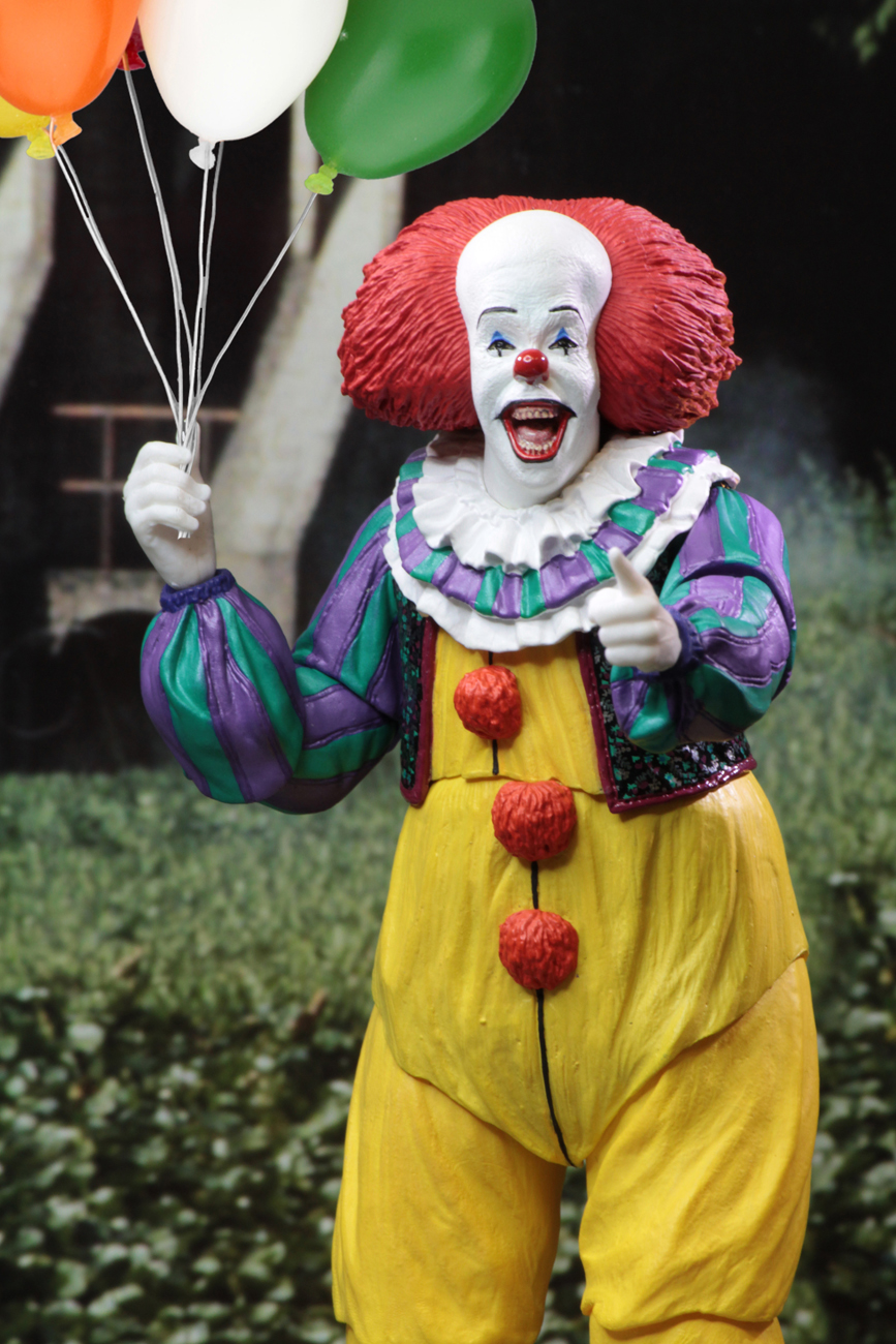 It 7 Scale Action Figure Ultimate Pennywise 1990