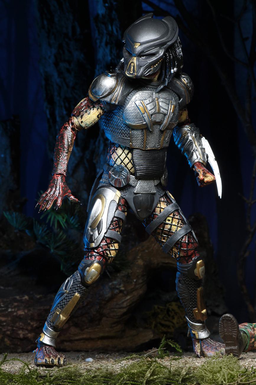 Predator (2018) – 7″ Scale Action Figure – Ultimate Fugitive