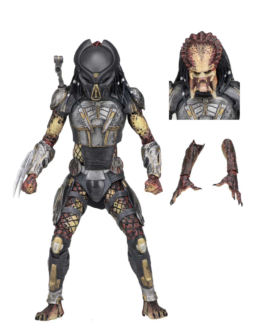 Predator (2018) – 7″ Scale Action Figure – Ultimate Fugitive