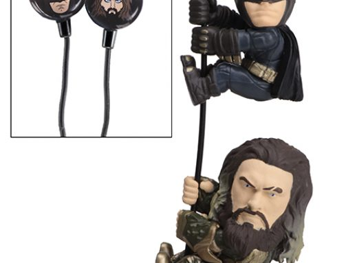 Scalers 2-Pack with Custom Earbuds – Batman and Aquaman (Justice League)