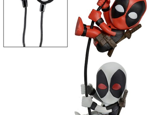 Scalers 2-Pack with Custom Earbuds – Deadpool & X Force Deadpool (Marvel)