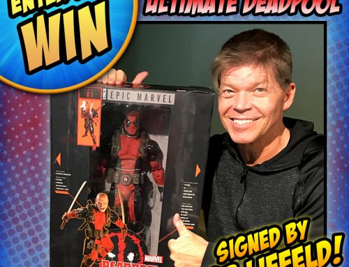 Enter to Win a 1/4 Scale Ultimate Deadpool Figure Signed by Rob Liefeld!