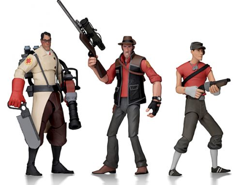 Team Fortress 2 – 7″ Scale Action Figures – Series 4 RED