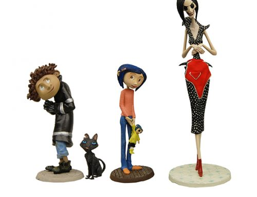 "Shipping This Week – Coraline ""Best of"" PVC Mini-Figure Set"