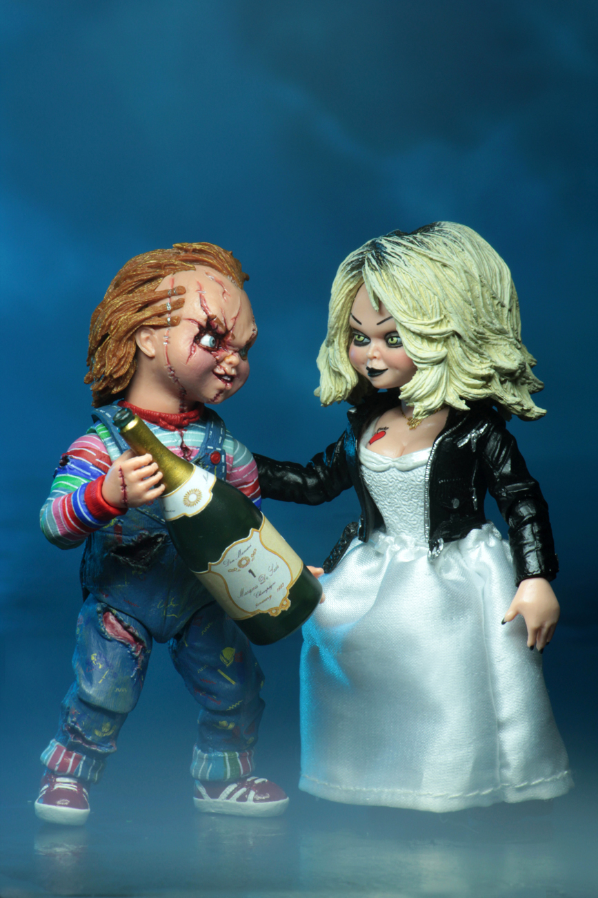 bride of chucky 7 scale action figure ultimate chucky tiffany