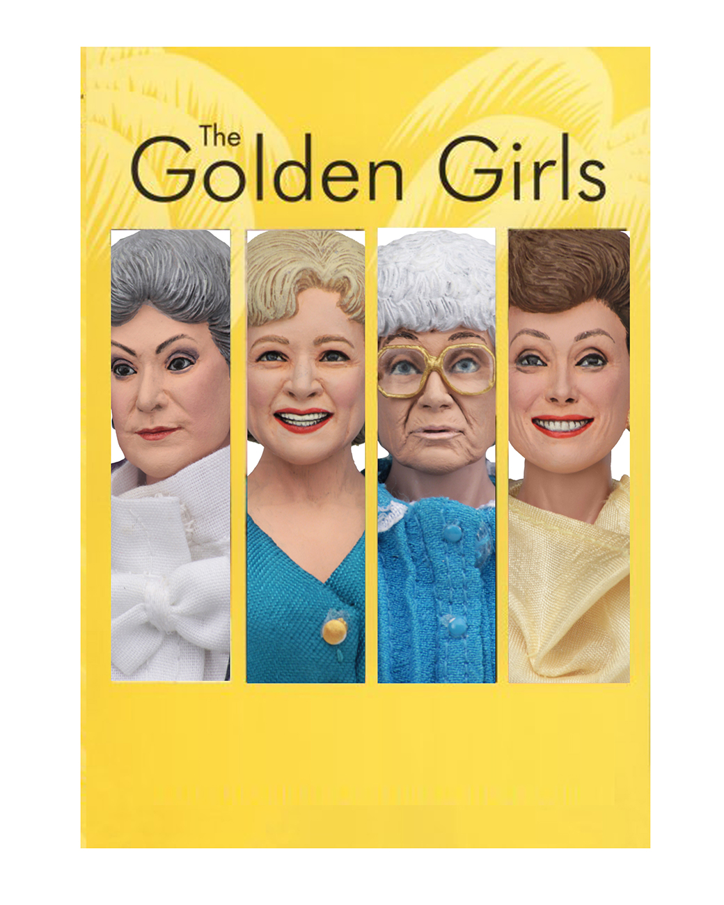 The Golden Girls 8 Clothed Action Figures Assortment