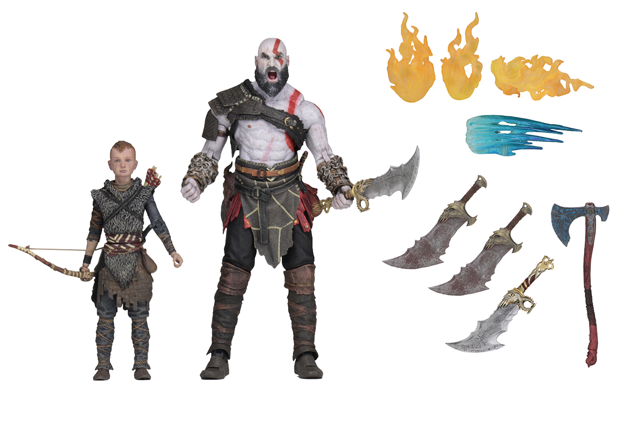 God of War (2018) – 7″ Scale Action Figure – Ultimate ...