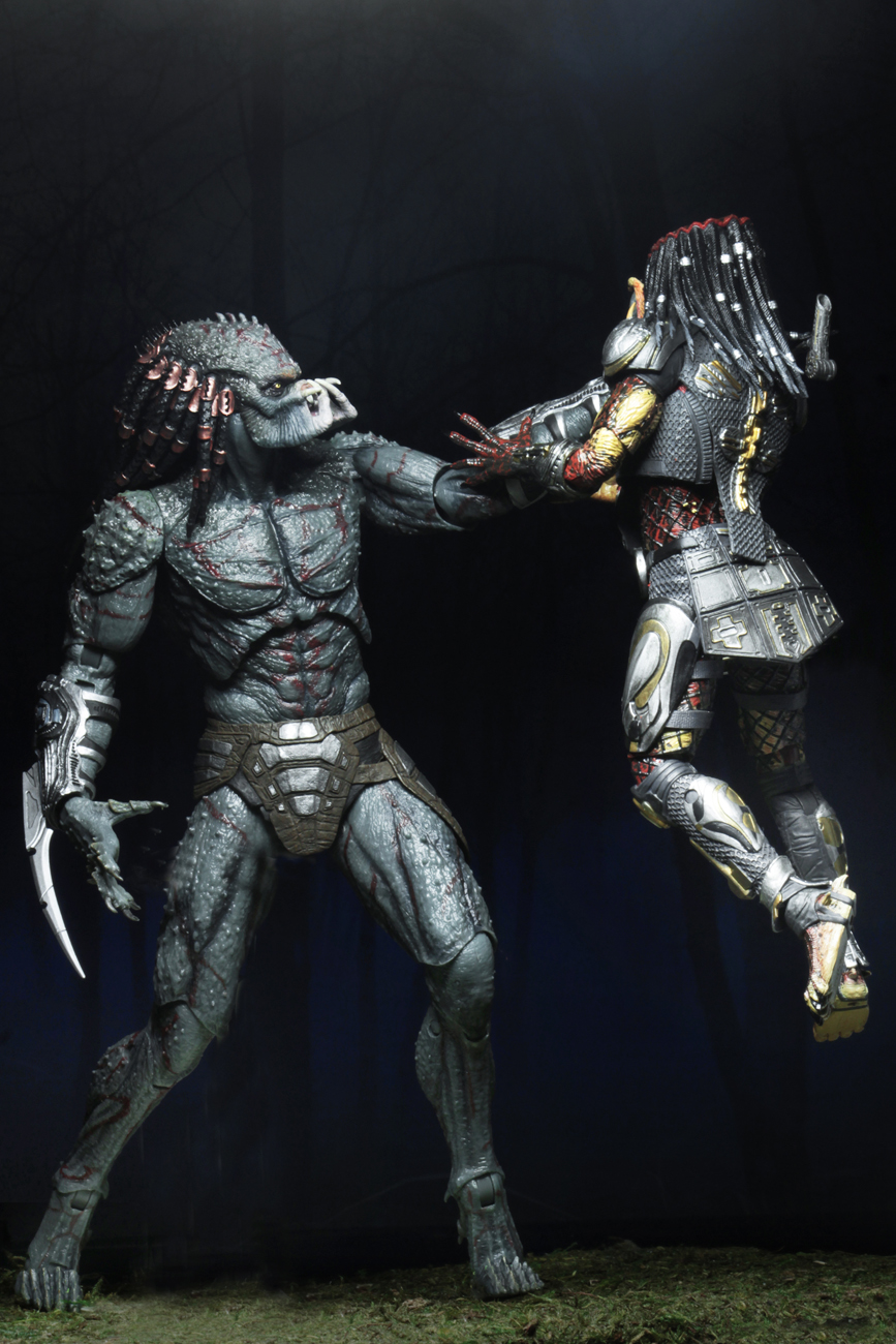 "Predator (2018) – 7"" Scale Action Figure – Deluxe Armored"