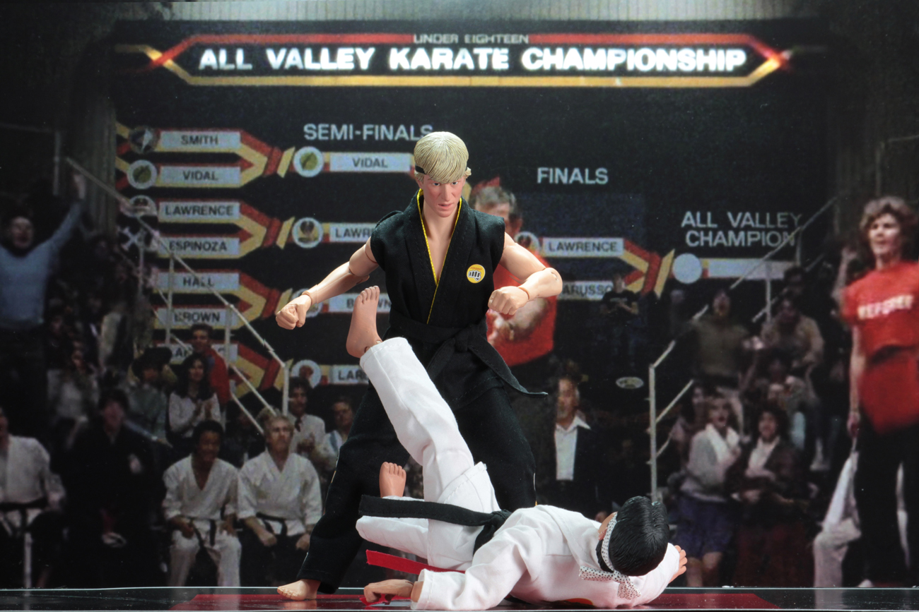 PREORDER NECA KARATE KID TOURNAMENT 1984 RETRO CLOTHED ACTION FIGURE TWO PACK