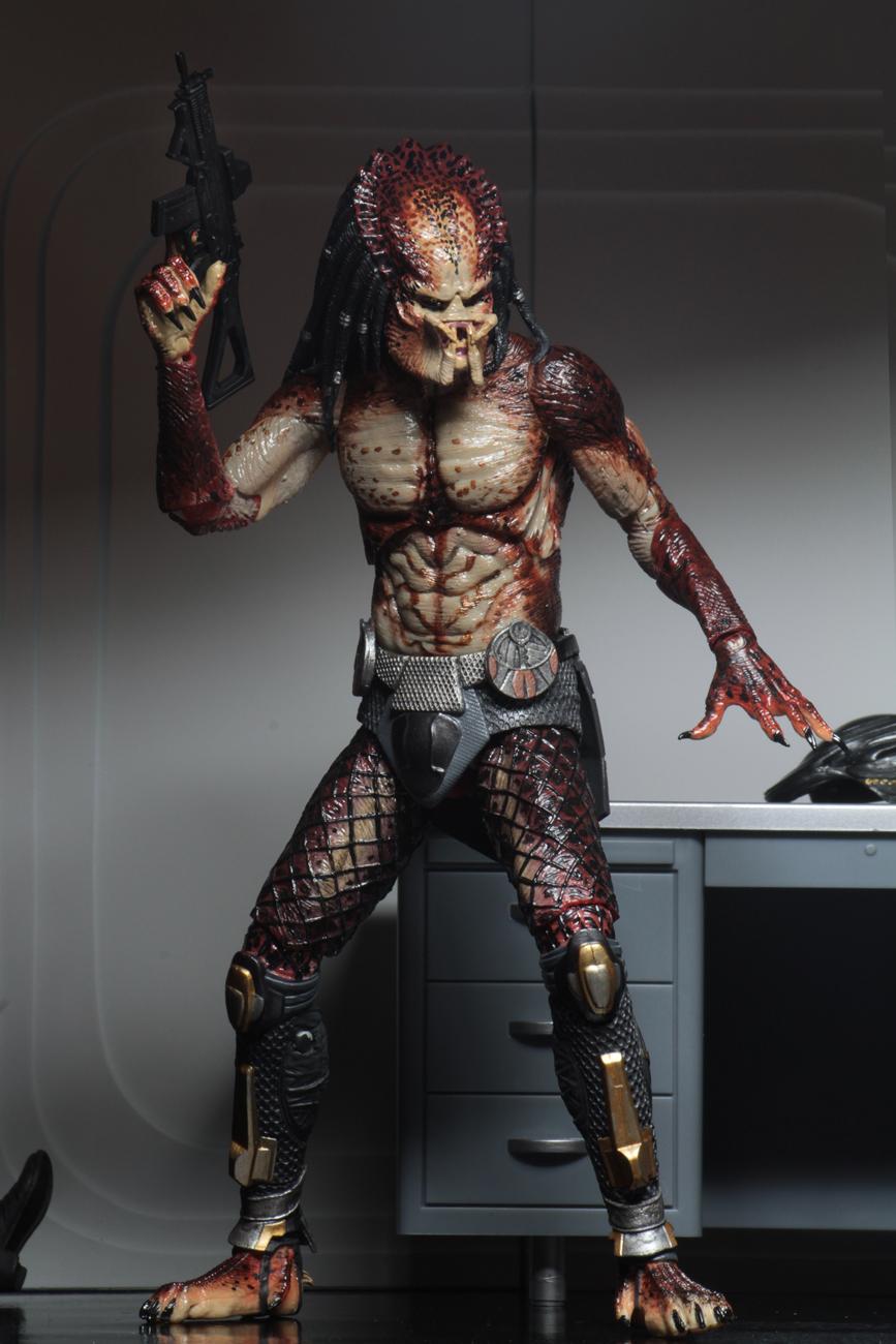 Predator 2018 7 Scale Action Figure Ultimate