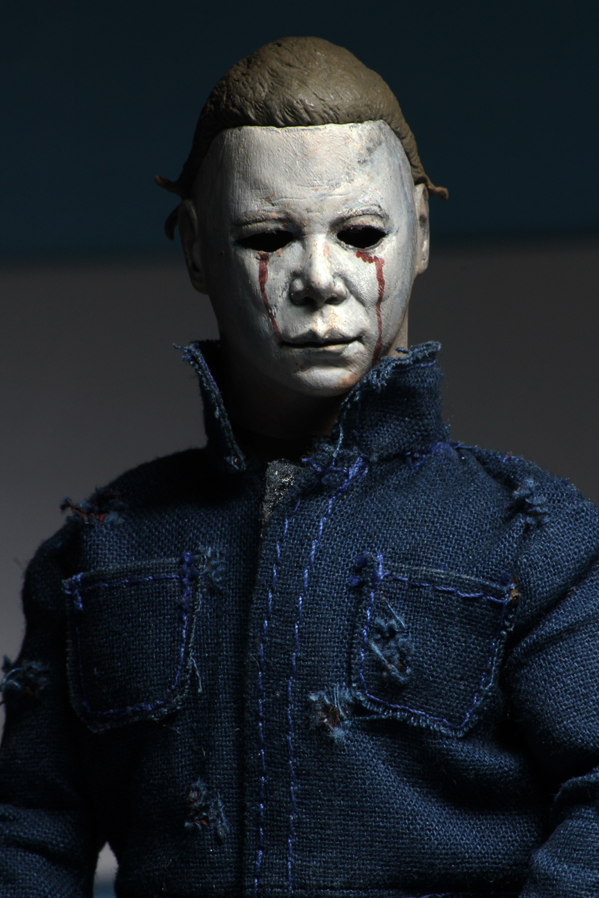 "NECA Halloween 2 Michael Myers 8/"" Vestito Action Figure in magazzino"