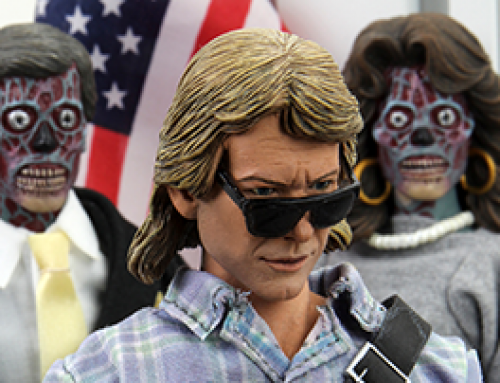 "They Live – 8"" Clothed Action Figure – John Nada"