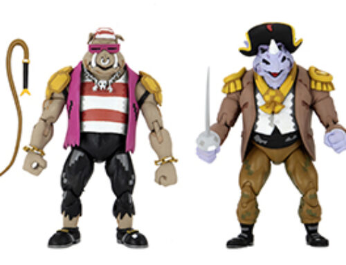 Teenage Mutant Ninja Turtles: Turtles In Time – 7″ Scale Action Figure – Pirate Rocksteady & Bebop 2-Pack