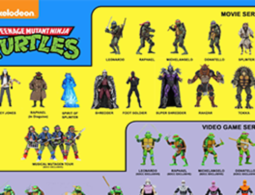12 Days of Downloads 2020 – Day 10: TMNT Visual Guide(1990, VG, & Mirage)