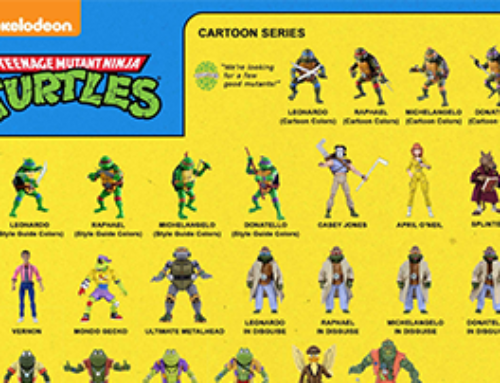 12 Days of Downloads 2020 – Day 11: TMNT Visual Guide(Cartoon)