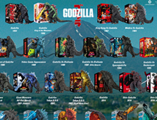 12 Days of Downloads 2020 – Day 1: Godzilla Action Figure Visual Guide