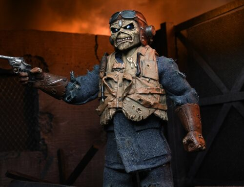 "Iron Maiden – 8"" Clothed Action Figure – Aces High Eddie"