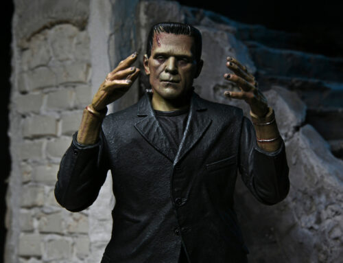 Universal Monsters – 7″ Scale Action Figure – Ultimate Frankenstein's Monster (COLOR)