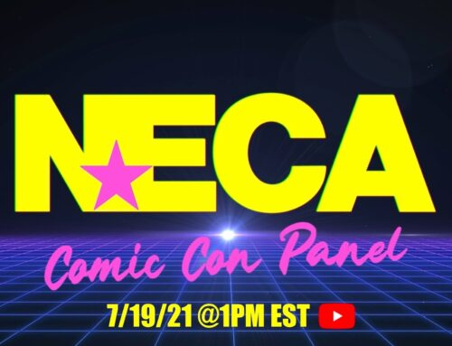 NECA Comic Con Online Panel – July 19, 2021 at 1 PM Eastern on YouTube!