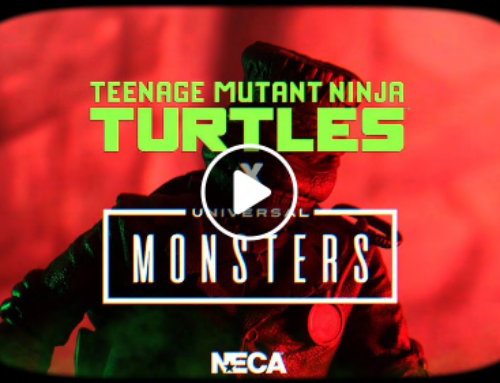 UNIVERSAL MONSTERS X TMNT ACTION FIGURES COMING IN 2022 FROM NECA! [VIDEO]