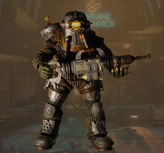 Bioshock – Deluxe Action Figure – Big Daddy Rosie