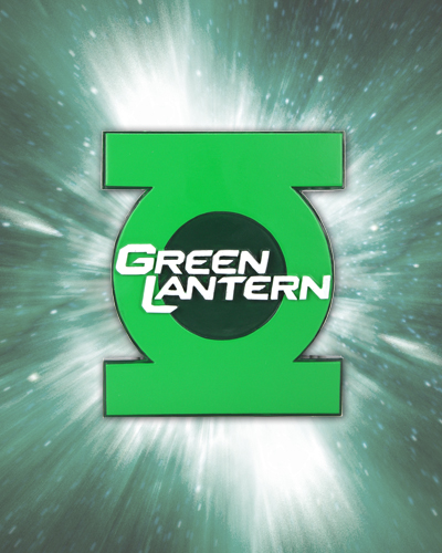 Green Lantern Movie Sculpted Magnet Symbol | NECAOnline.com