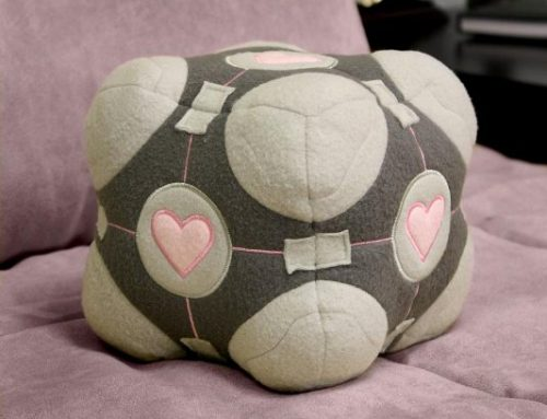 Portal – Plush – Companion Cube ***DISCONTINUED***