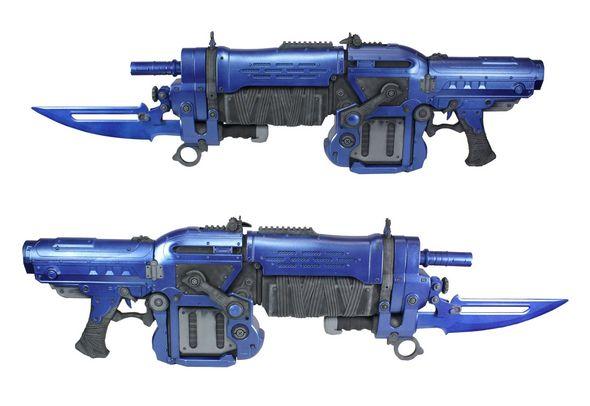 Team Metal Retro Lancer Gears of War